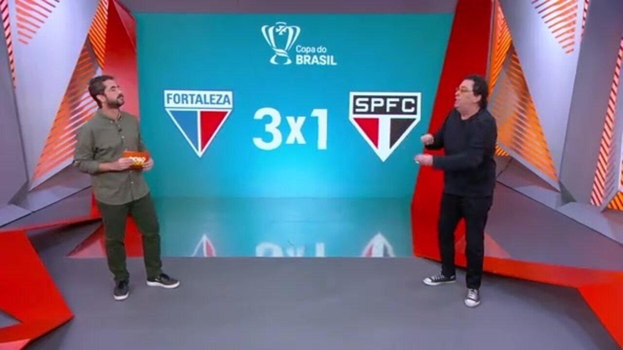 Casagrande comenta a eliminação do São Paulo
