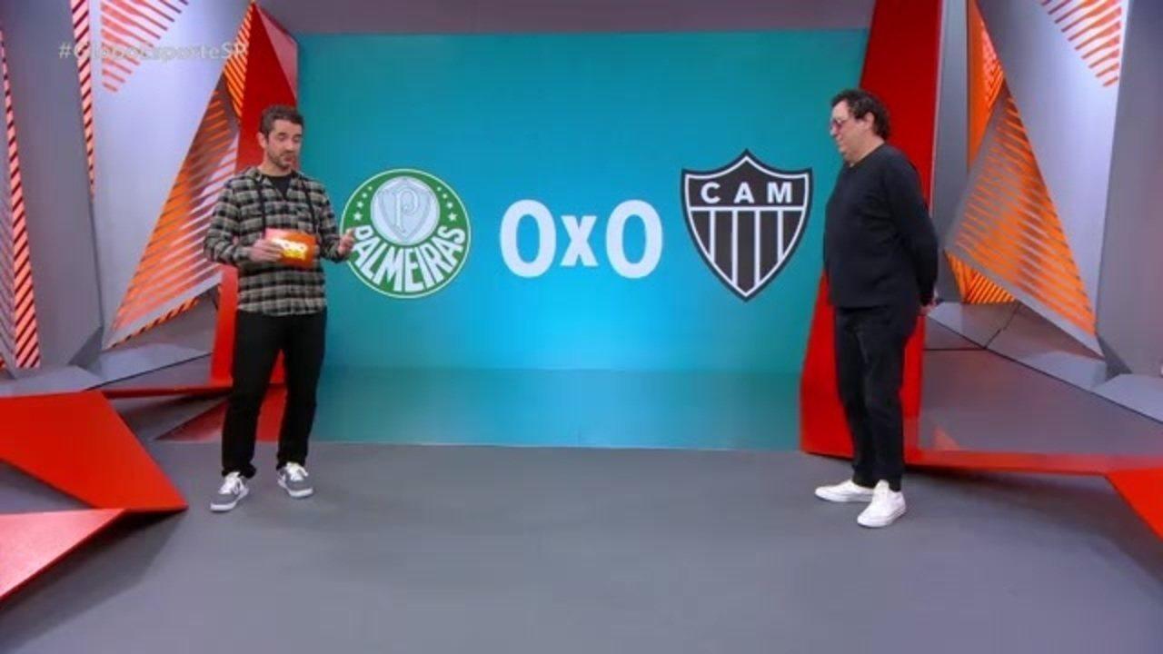 Casagrande analisa o empate do Palmeiras na Libertadores