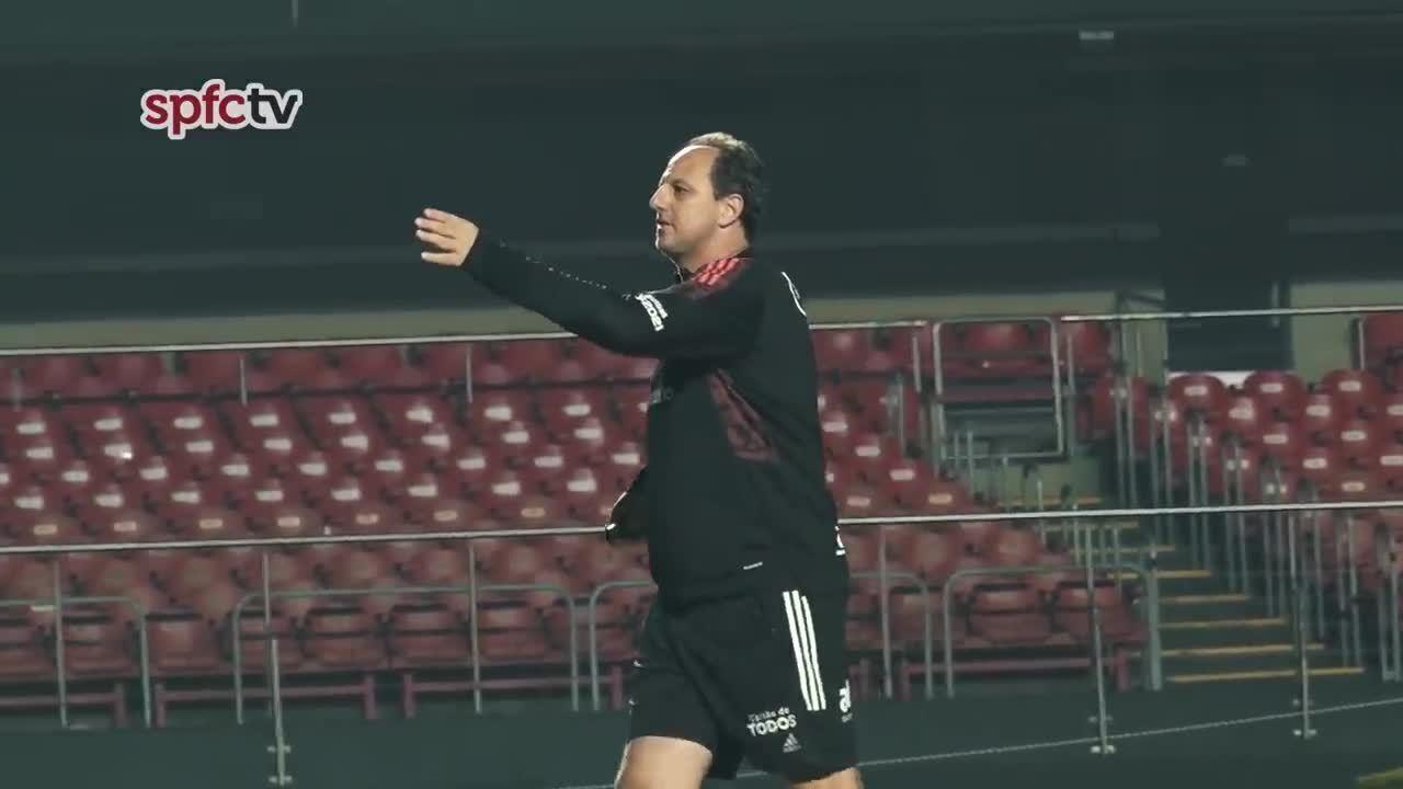 De volta ao Morumbi, Rogério Ceni comanda treino e fala sobre a estreia contra o Ceará