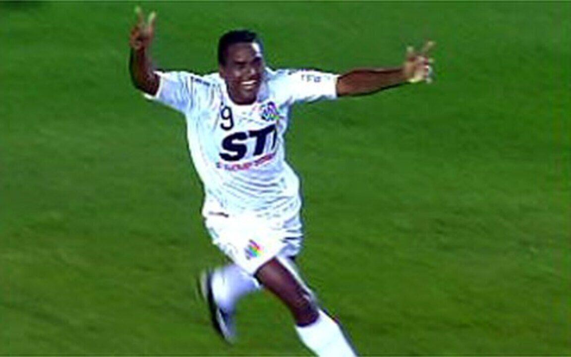 Os gols de Santos 2 x 1 Palmeiras pela semifinal do Paulistão 2009